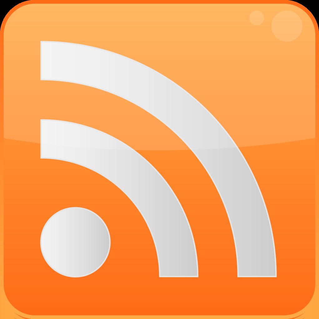 Logo de RSS. Click para el feed de El Miracielos