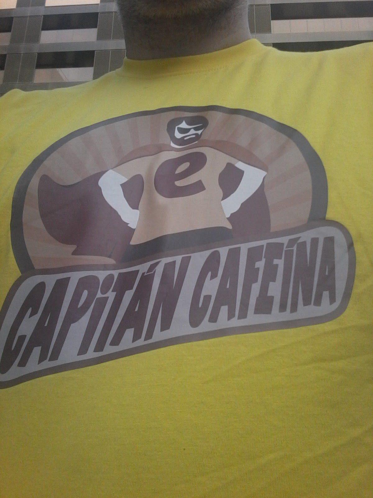 Camiseta Capitán Cafeína