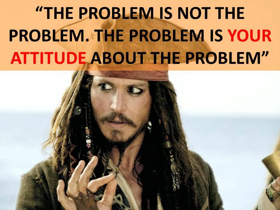 actitud ante los problemas